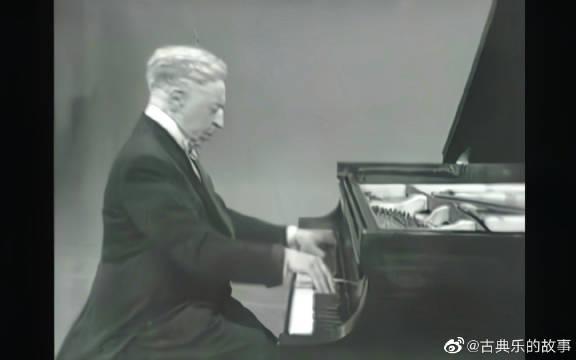 鲁宾斯坦钢琴:肖邦《降A大调波兰舞曲》