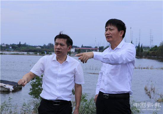 中国人保财险沈东副总裁赴安徽庐江勘查灾情