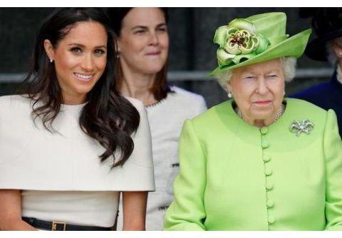"""""""传记事件""""后 英国王室高调祝梅根生日快乐"""