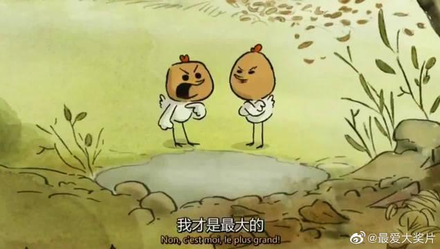 高分动画片《大坏狐狸的故事》,改编自法国同名绘本