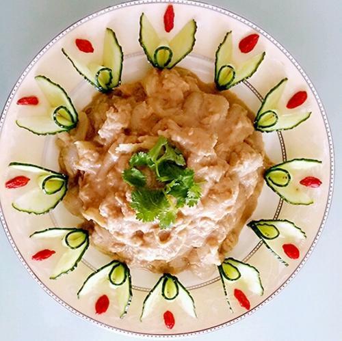 美食凉菜分享:凉拌蒸茄子、凉拌三河豆腐丝、凉拌千张的简单做法