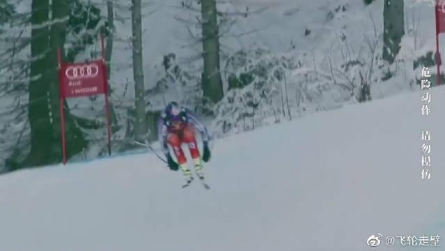 世界上最危险的滑雪速降比赛,看一次少一次,趁现在多看点吧