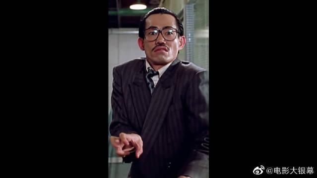 电影中的反派人物,西装暴徒元华,真怕主角打不过他