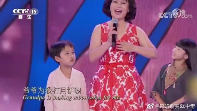 鞠萍姐姐《八月十五月儿圆》,歌声温婉动听,好听极了!