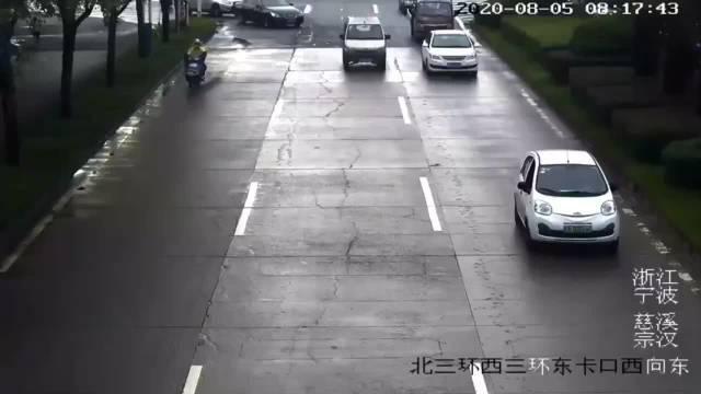 宁波 进交警中队处理事故,却发现事情并没有那么简单……