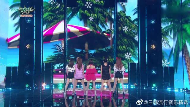 音乐银行:With You打歌现场,Red Velvet全员小短裙超可爱
