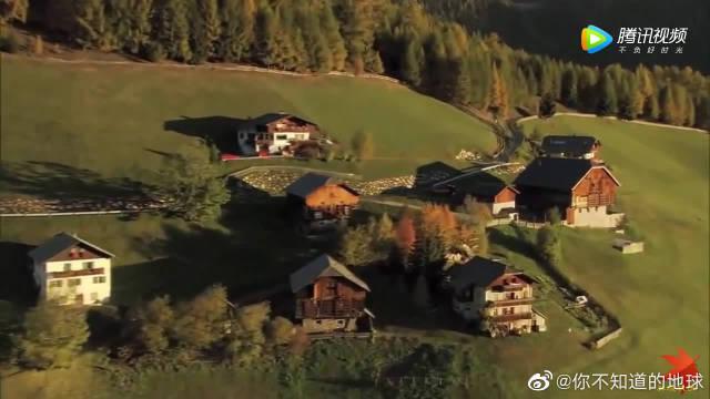 奥地利蒂罗尔地区优美的的风景和民歌