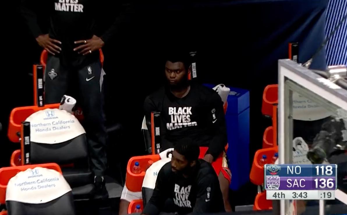 【影片】鵜鶘5人上雙仍然輸球,Zion面如死灰,Ingram朝教練席扔髮帶!-籃球圈