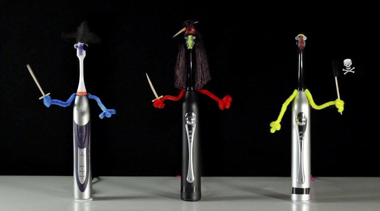 生活创想者:三把电动牙刷的海盗之旅
