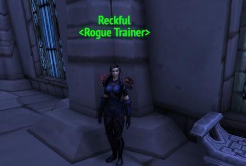 《魔兽世界》命名盗贼训练师「Reckful」纪念贼神还给他天使之翼