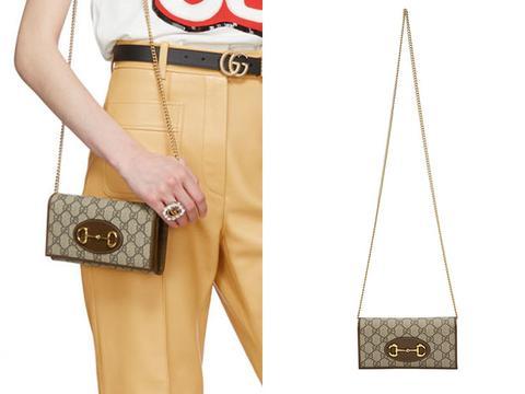 这几款气质典雅的Gucci包包:经典老花图案加马衔设计!
