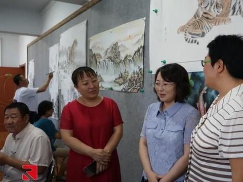 内蒙古广播电视台调研组来土左旗调研新时代文明实践工作