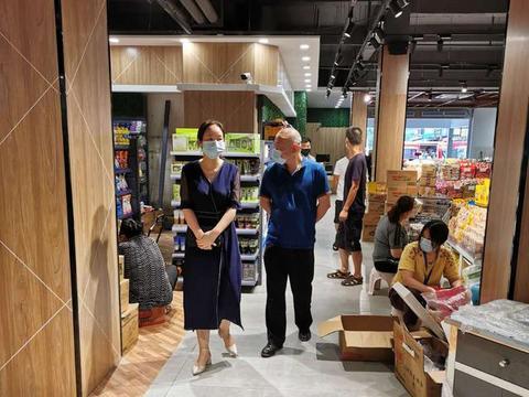 武汉市江汉区首家3.0版标准化菜市场问世