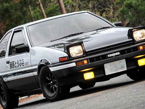 丰田AE86简史 ,它会的不止是漂移!