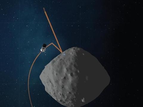 奥西里斯-REx探测器第二次演练触碰小行星本努