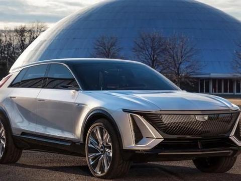 凯迪拉克Lyriq,未来感十足的美系豪华电动车!