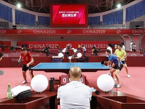 国乒大赛前集体亮相,樊振东新发型抢眼,球迷直言想抱孙颖莎