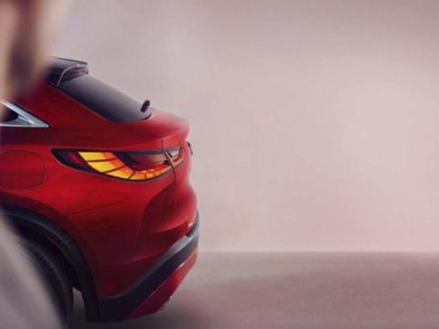 对标奔驰GLC Coupe!英菲尼迪QX55预告图曝光,双11正式亮相