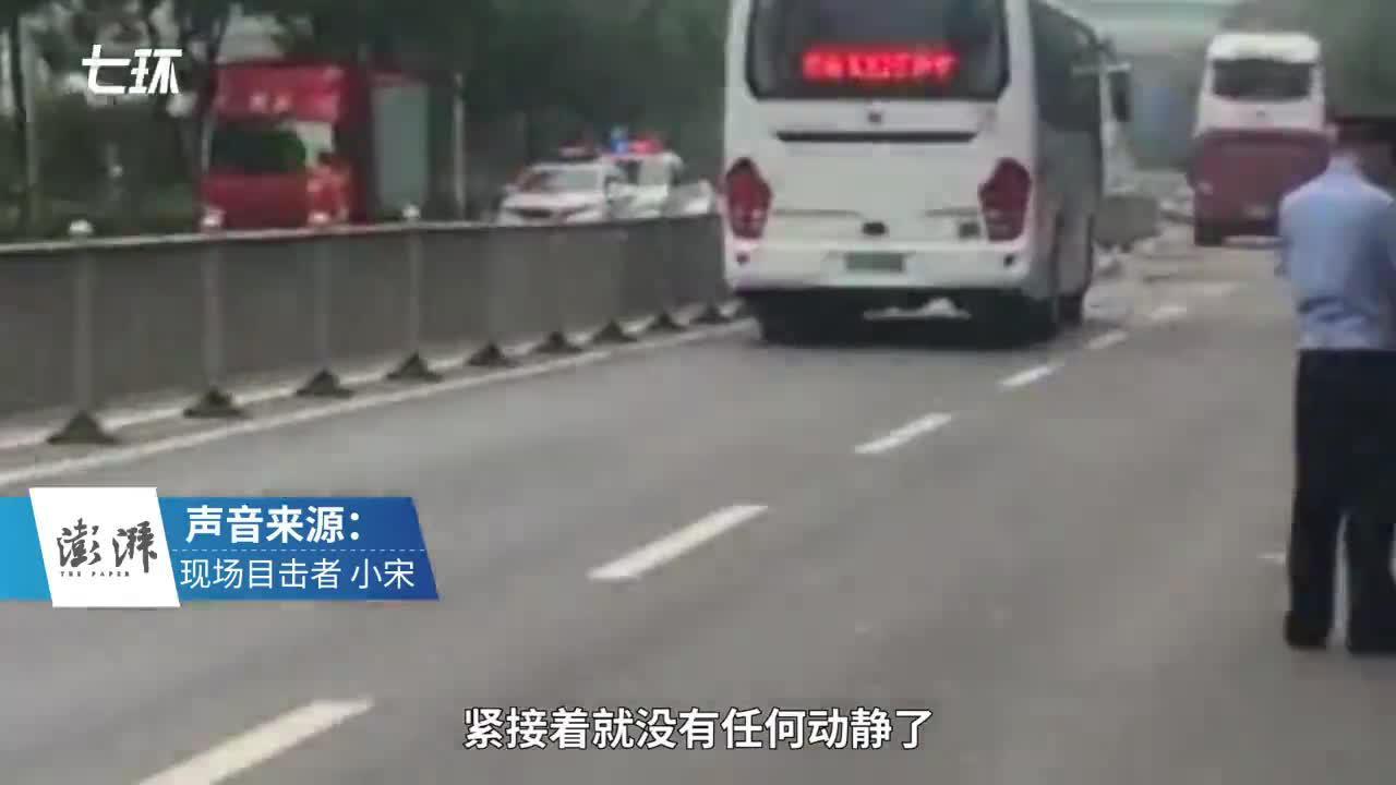 济南客车爆炸前车体发出泄气声,30米远处市民被玻璃击伤