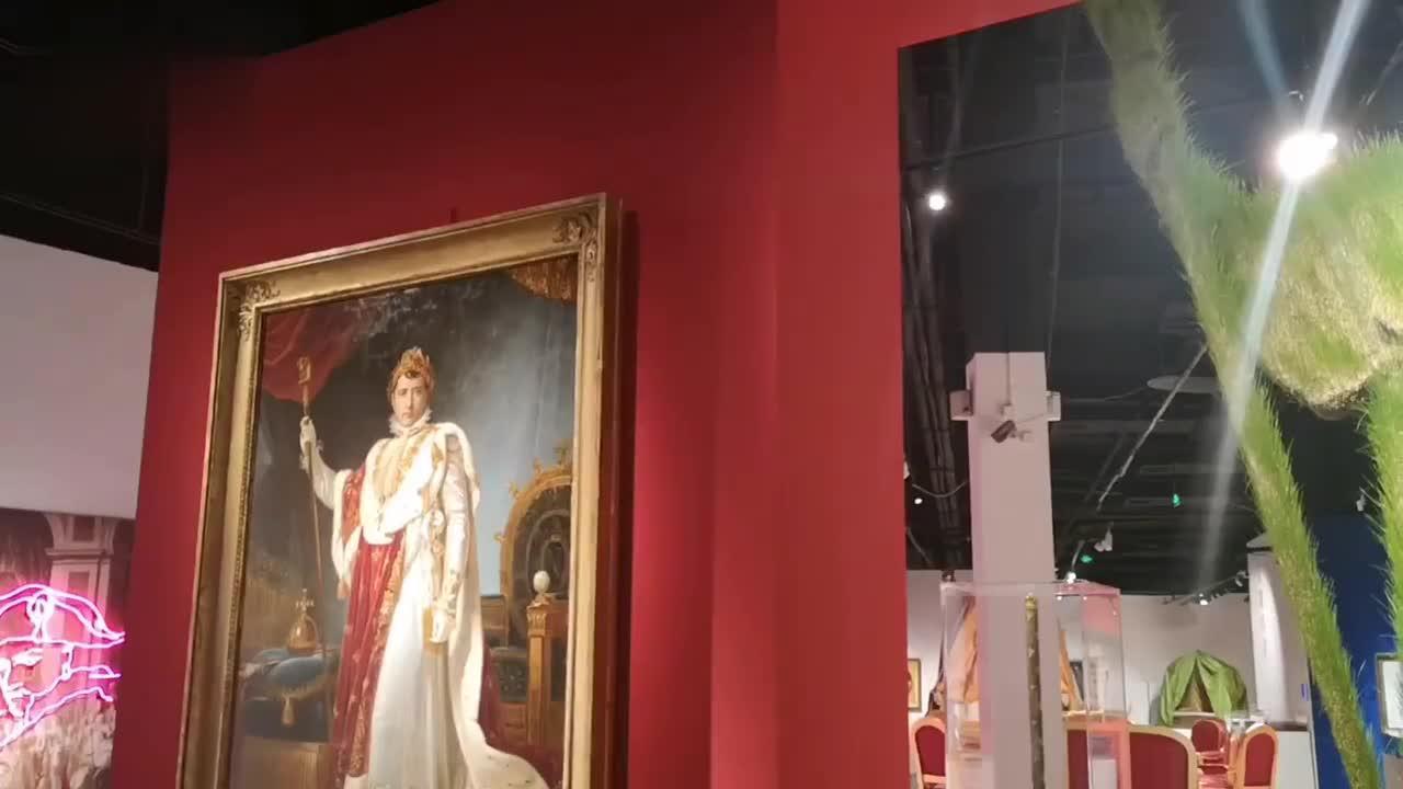 """视频︱首次登陆山东!""""传奇拿破仑特展""""在青岛开展"""
