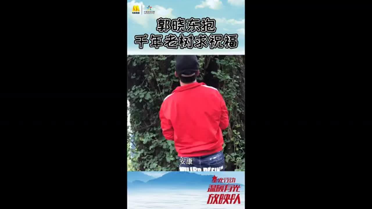 《温暖有光放映队》郭晓东抱千年老树求祝福