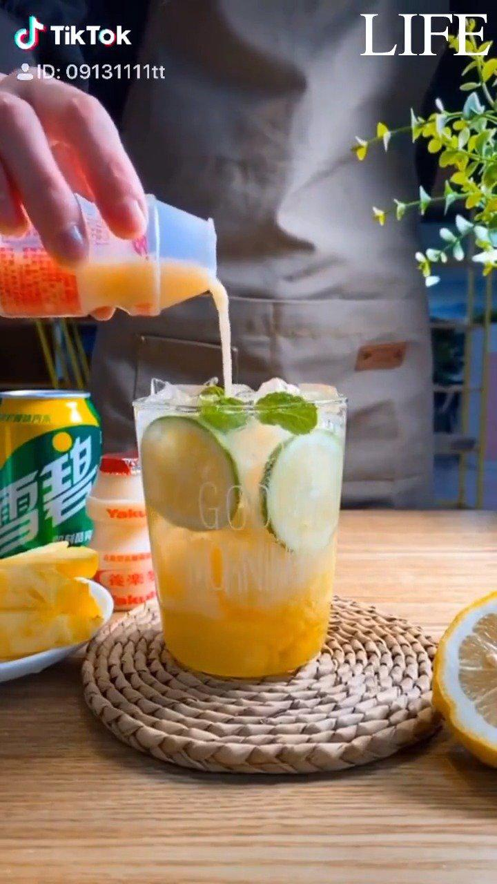 分享一波饮品店的秘密配方,夏日在家自己动手做饮品……
