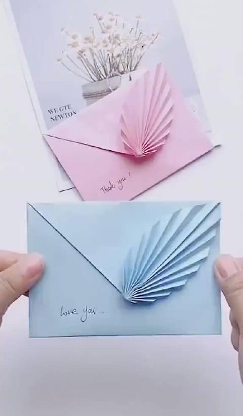 80后学生时代写信叠信纸的手法:一叶相思……