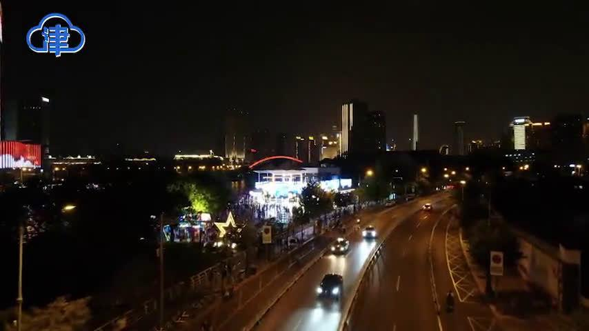 夜市停车有人情味!天津这几个夜市临时停放车辆免费