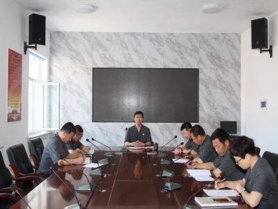 """临江市人民法院召开""""三书一函"""" 办理工作会议"""