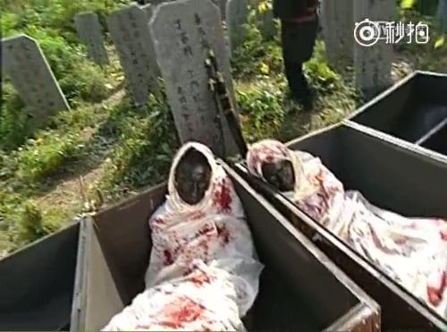 少年包青天烧焦的尸体居然是两个黑人扮演的……