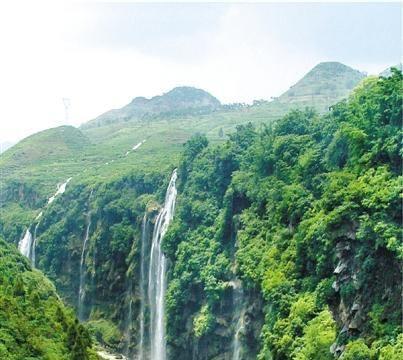 秋季去贵州马岭河大峡谷游玩,欣赏奇特的自然美景!
