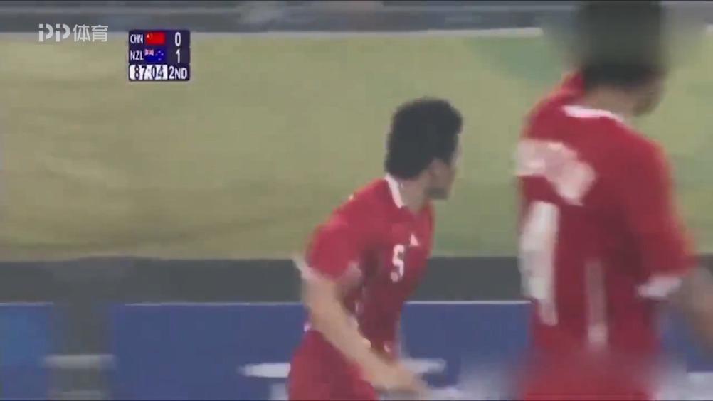2008年8月7日,@董方卓 攻入中国男足奥运会首粒进球……