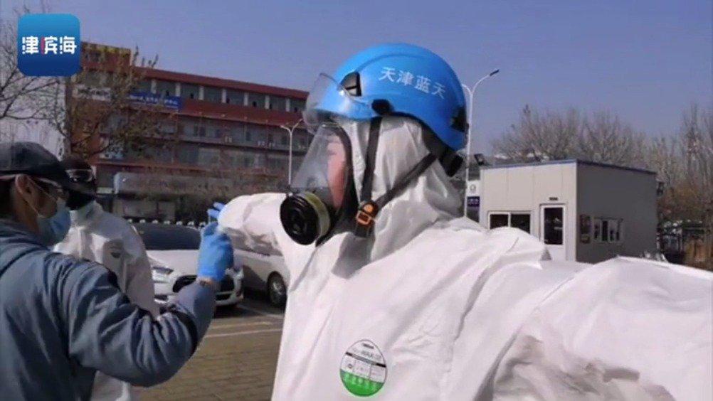 新区疫情防控先锋志愿者|天津滨海蓝天救援队队长刘会成:抗疫消