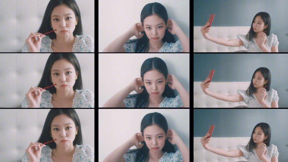 Jennie x KT 5G Galaxy Note20 Mystic Red宣传视频 男友视角的甜