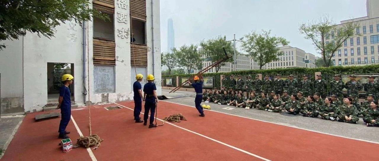 高新区管委会建立入职培训制度推进消防三年专项行动开展