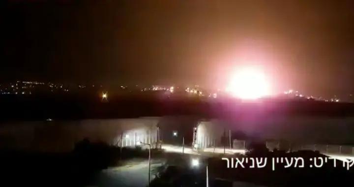"""""""气球炸弹""""飞向以色列后 以军空袭加沙地带哈马斯目标"""