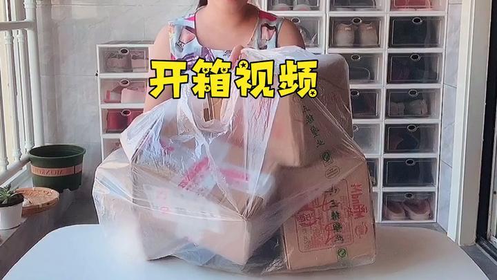 池小霞vlog:每天在家就是买买买,今天开箱看看我平时都买啥了