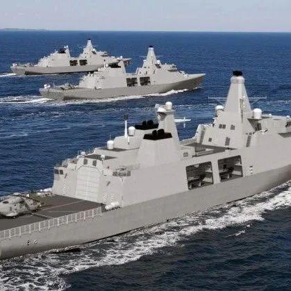 大英帝国没落了!最新护卫舰只有054A六成战力,还是外国设计