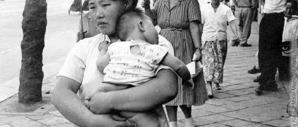 老照片  1964年韩国汉城  驻韩美军拍摄