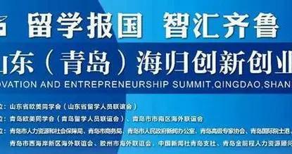 中新网直播:中国·山东(青岛)海归创新创业峰会