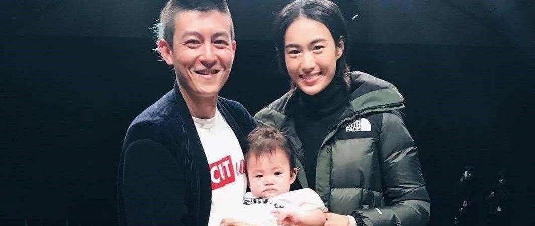 """12年后,40岁陈冠希成为了一个""""相妻教女""""的老父亲。。。"""