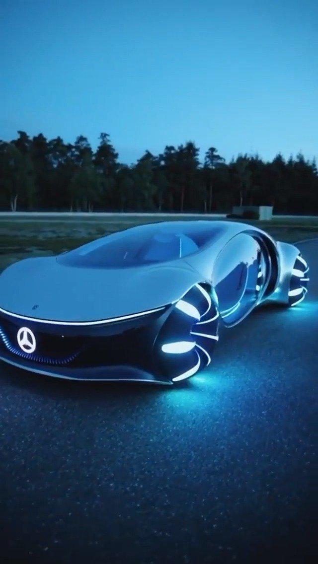 奔驰Vision AVTR概念车