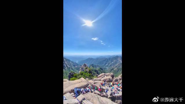 莲花峰位于黄山中部,玉屏峰西南,为36大峰之一。海拔1864米……