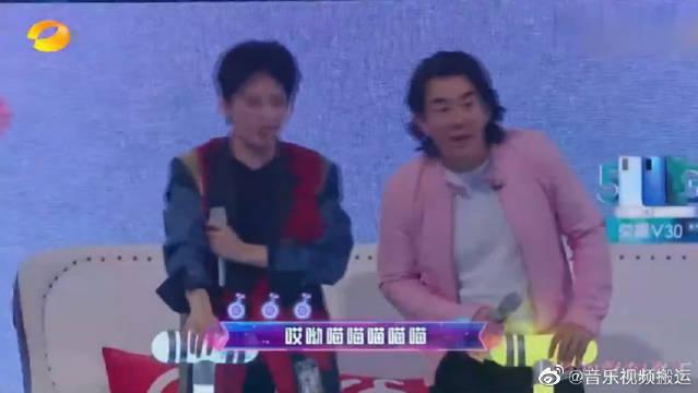 小潘潘登上综艺舞台, 歌火人不火《学猫叫》的原唱,进军娱乐圈