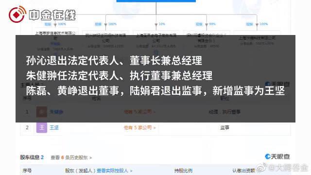 拼多多主体公司法定代表人变更,黄峥退出董事席位