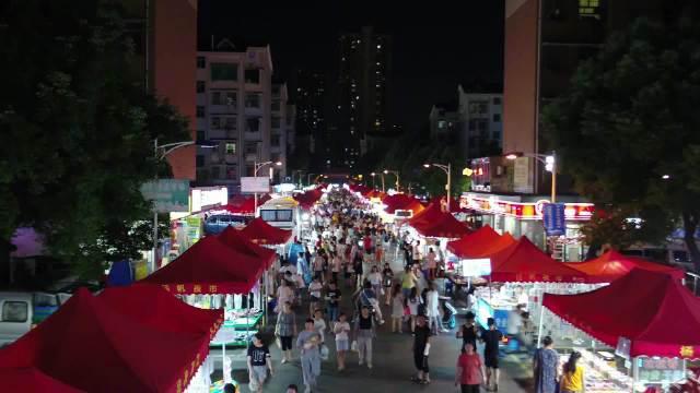"""长沙夜市图鉴 永定美食七街:长沙最清新的""""纯吃""""夜市"""