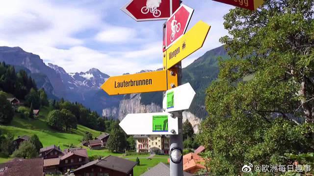 如果你问我最喜欢欧洲哪个小镇,那一定是瑞士的因特拉肯