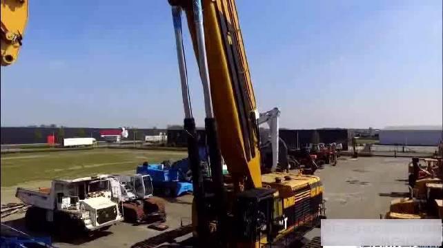 世界上最高的挖掘机车身拆除,专业拆迁,一年挣千万!!