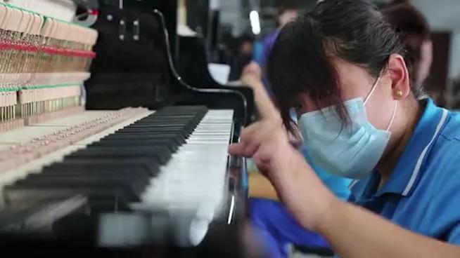 """星海钢琴""""乐""""响肃宁,助力当地打造""""北方乐器之都"""""""