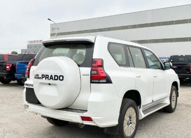 首批新款丰田普拉多提车!落地55万,超强扭矩+6AT成最大看点!